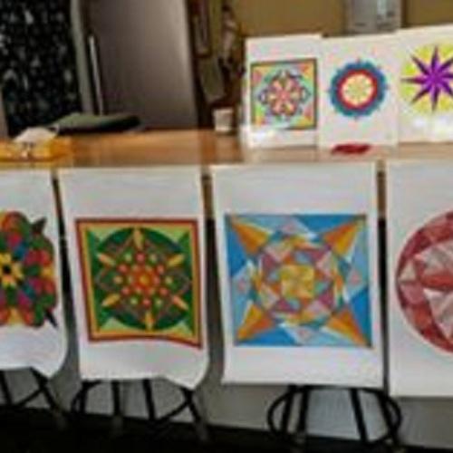 【ぴらけし会場】アートセラピー《こころDEものづくり教室》~「塗り絵」曼荼羅アートで瞑想空間
