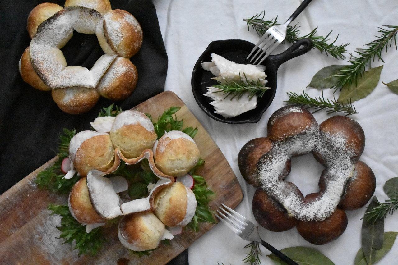 自家製酵母パン!憧れのクーロンヌ・ボルドレーズ2種&自家製シーチキン
