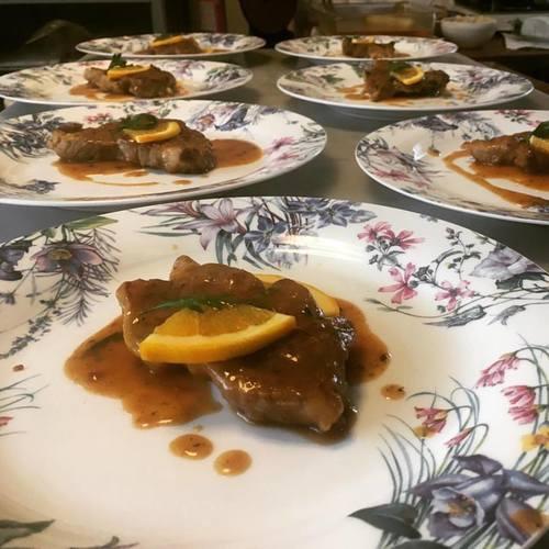 7月 料理クラス<豚肉のオレンジ煮/マスタードマッシュ/スコッヂエッグハーブ風味 他1品>