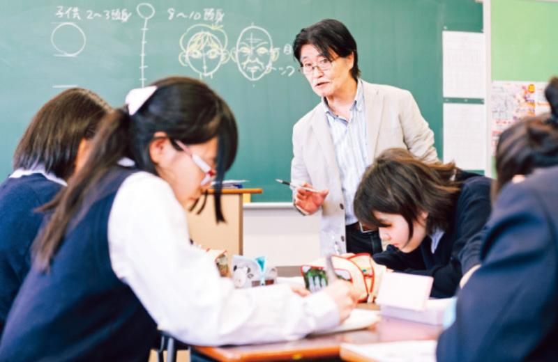 【サマースクール2018:体験講座】19.プロ講師によるマンガ基礎講座