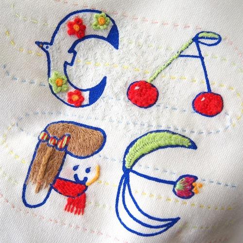 【「刺繍CAFE」at EDiTORS 1/14(日)】