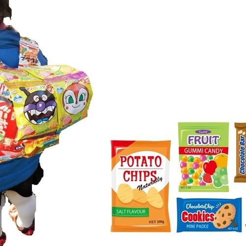 【初めて予約参加の方優先】親子に大人気のお菓子リュックを作ろう★☆【江戸川】2019年3月21日(木祝)