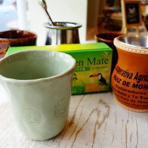 はじめてのマテ茶と陶芸フリーカップ作り@ONVO SALON(オンヴォサロン)