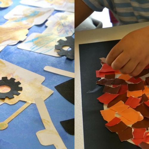 [2歳]飾れる作品を造ろう!Babyアート☆Halloween 10月