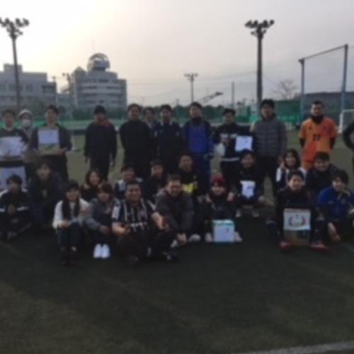 3/31(日)「Fステ エンジョイCUP」Supported by goleador store~