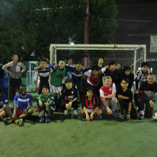 for skilled player ¥500~ Grass Futsal game at Urawa