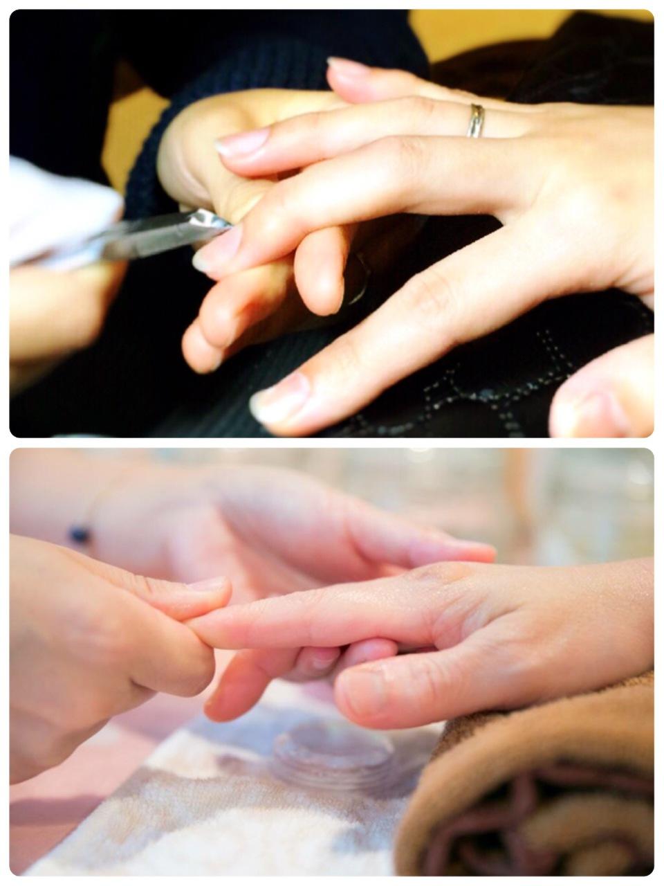ネイルケア&ハンドケアで指先から綺麗に♪    nails M   with nanala