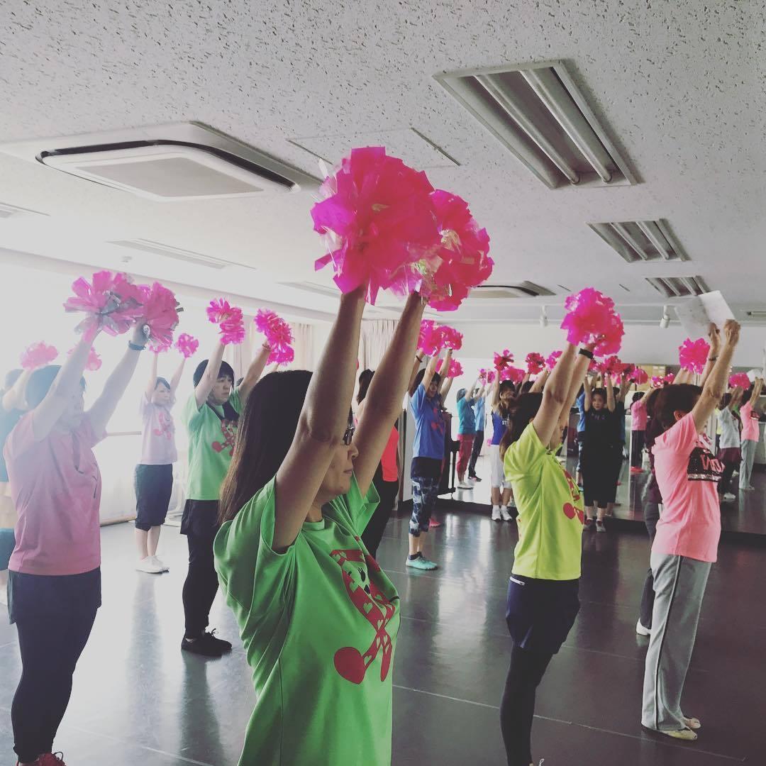 -終了-チアダンス教室 7/8(日)10:10〜11:40