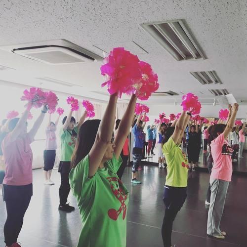チアダンス教室 7/8(日)10:10〜11:40