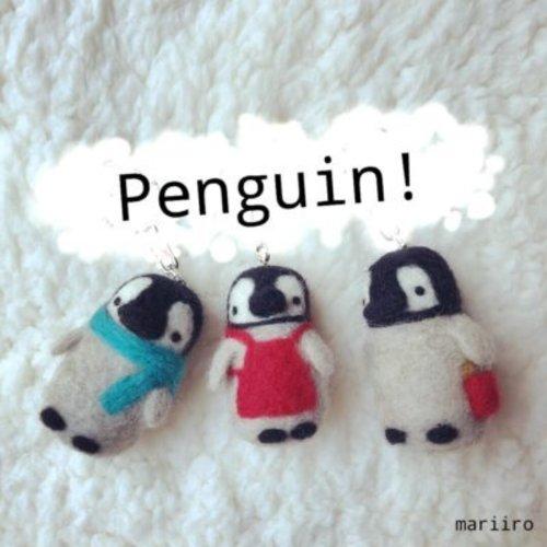ペンギンマスコット【池袋マルイ】 羊毛フェルトワークショップ