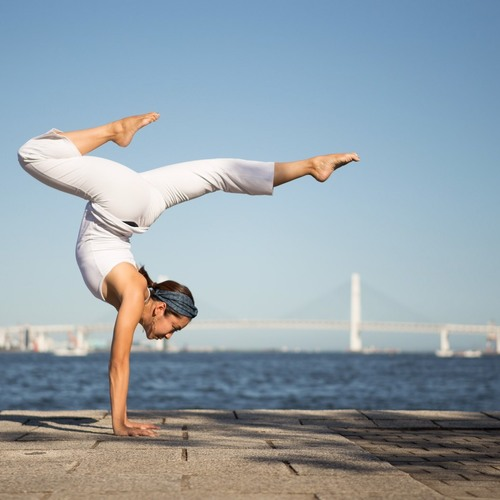 ハンドスタンドトレーニング@Reebok Fitness Friday