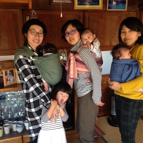 12/24 Babywearing だっこ/おんぶクラス