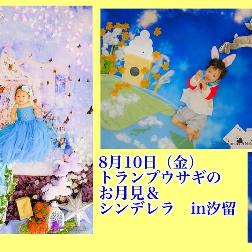 【早期予約で特典付き!】8月10日(金)シンデレラ&お月見IN汐留イタリア街