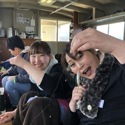 ワカサギ釣りドーム船釣行会 in 山中湖