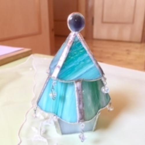 WAKO HYAKKATEN  クリスマスワークショップ glass のツリー