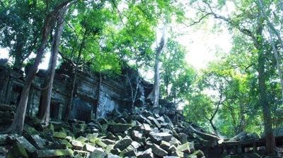 天空の城ラピュタ、ベンメリア遺跡とコーケー遺跡