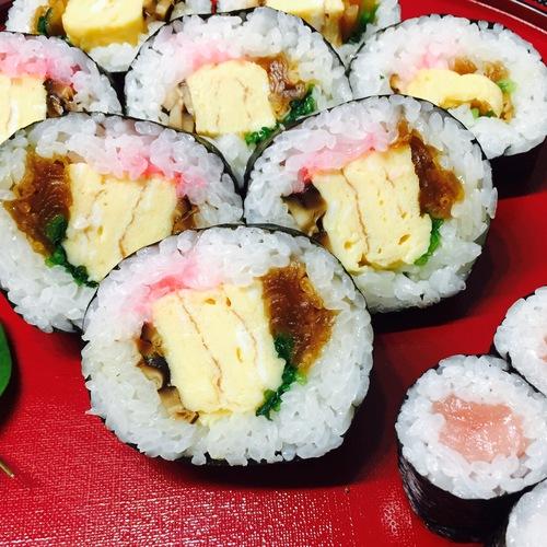 太巻寿司と細巻寿司