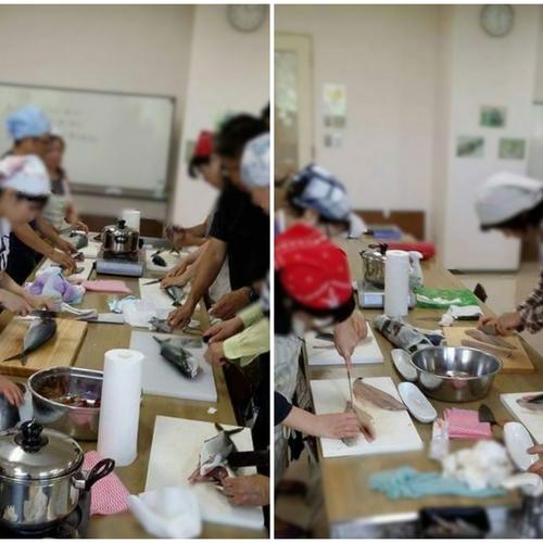 7/16(日)鐘崎の漁師が教える魚のさばき方&料理教室