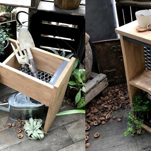 【名古屋店/2019.02.28】green planter + side table  -2Way-