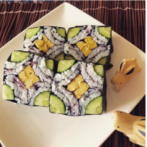 節分前の巻き寿司講座