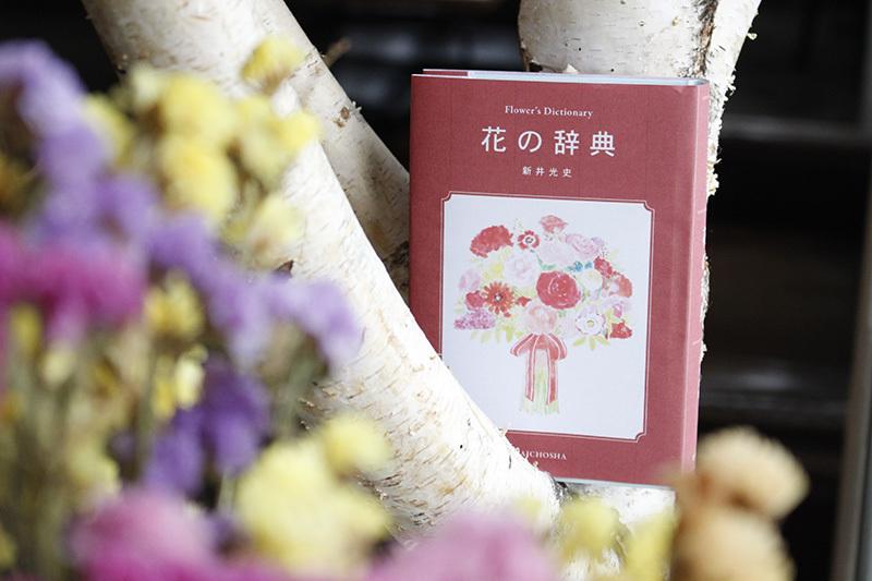 10/11『花の辞典』トークイベント「秋の花の飾り方」新井光史