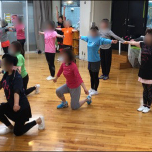 チアダンス教室 4/1(日)10:10〜11:40