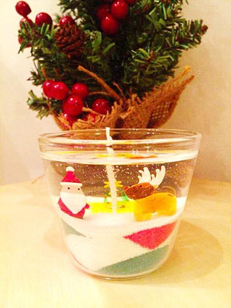 ●12月12日(土)『クリスマス ジェルキャンドル作り』