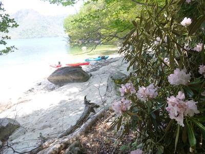 中禅寺湖カヤックツーリング 1日間