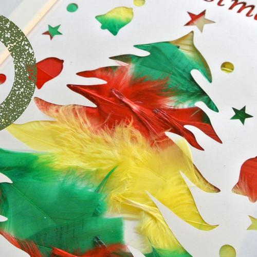 [2歳]飾れる作品を造ろう!Babyアート☆Christmas(クリスマス) 12月