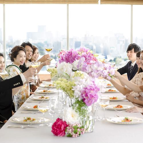 【人気No.1】少人数アットホーム婚フェア*家族と過ごすお食事会◇無料試食付◇