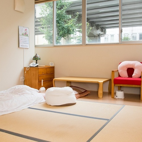 産後入院見学の予約