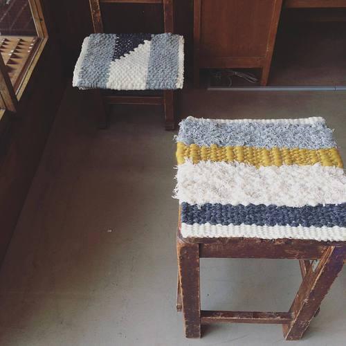 手織りの椅子ざぶWS