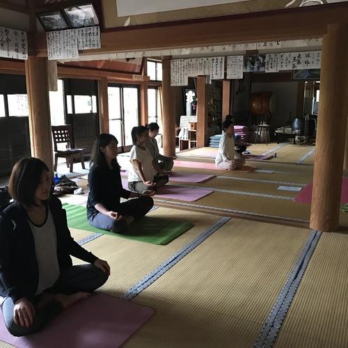 〜高野山〜保健医療福祉教育関係者・ヨガ指導者・セラピスト・カウンセラーのための瞑想・ヨガニドラー指導者養成講座
