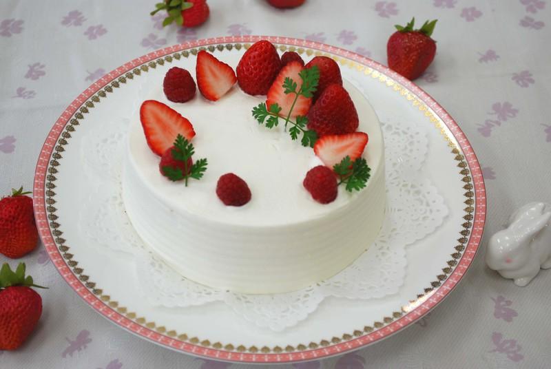 おためしレッスン 4月初級クラス前半① ショートケーキ