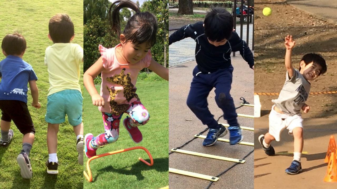 [3歳-4歳]スポーツを楽しめるようになろう!フィットネスプログラム 9月
