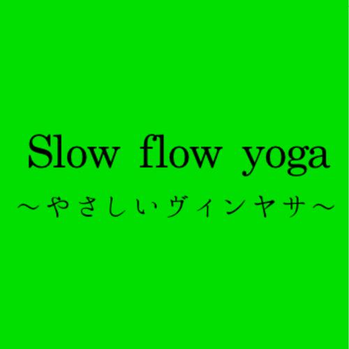Slow flow yoga(やさしいヴィンヤサ)/講師:takako【運動量★★★☆☆】【初心者の方おすすめ】