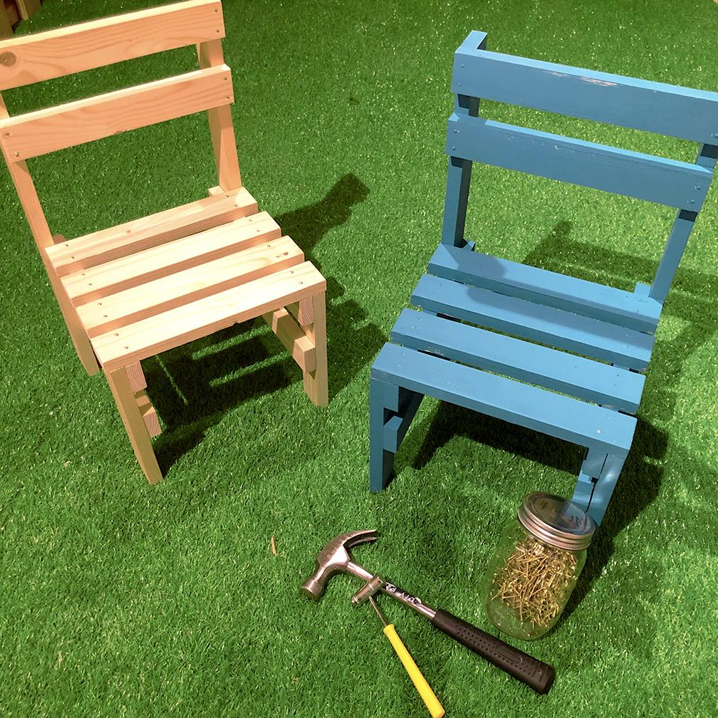 小さな椅子づくり