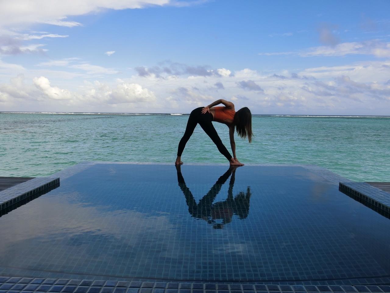Deep relax yoga
