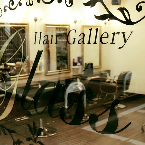 Hair Gallery Glass (hair gallery glass)