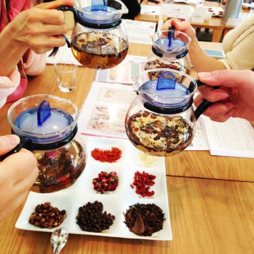 漢方茶ワークショップ(漢方ランチつき)