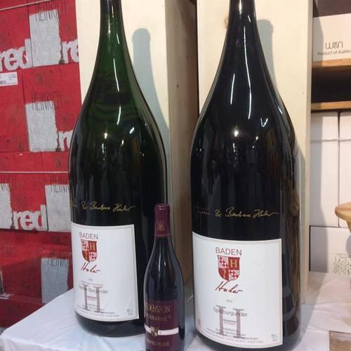4/28(土)ドイツワイン「フーバー」ビッグボトルの会