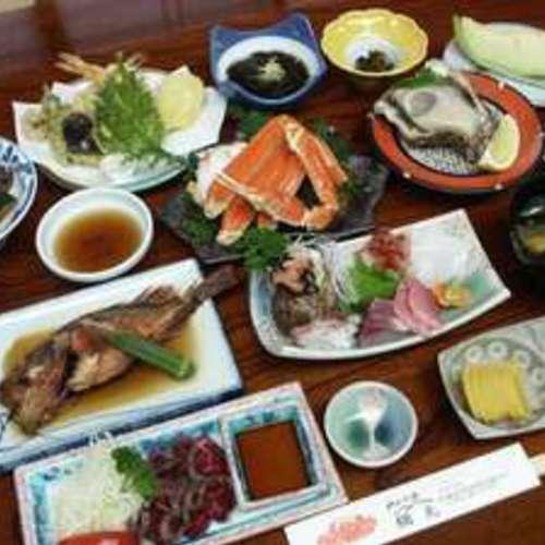☆海と山の幸プラン 会席料理 一泊二食付き (当日15時~翌日10時)☆