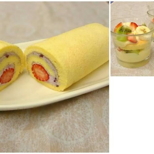 【米粉のおやつ教室】 ロールケーキ