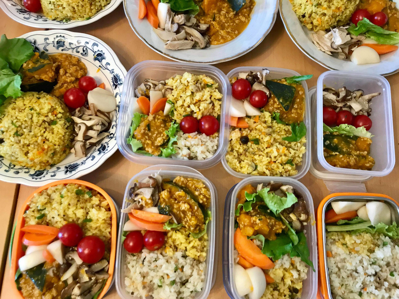 秦さんの調理実習「ご飯の仕度が楽になる・冷凍庫貯金」①
