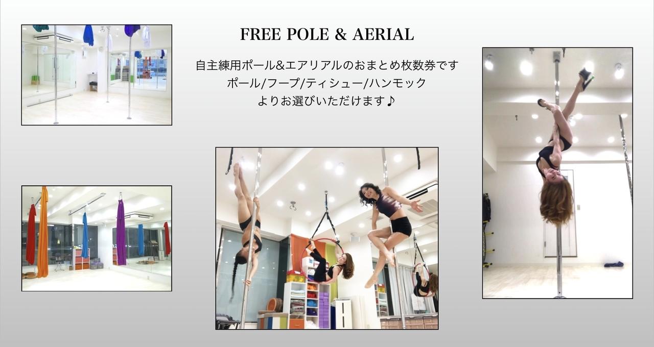 【FREE POLE AERIAL】2H
