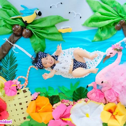 ★海の中★ & ★ハンモック★ おひるねアート撮影会 木場・豊洲