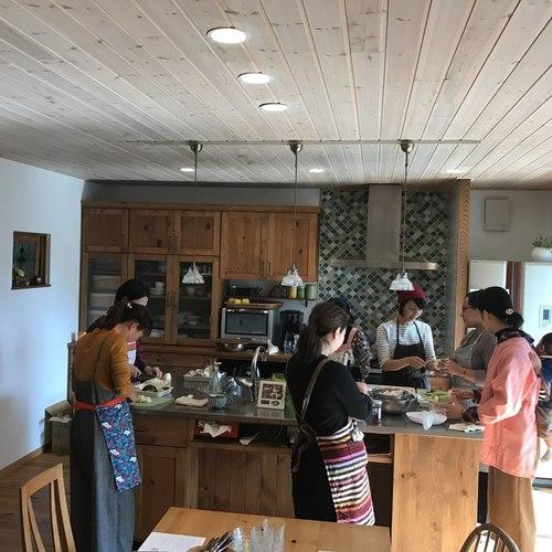 木のキッチンで料理教室「居酒屋おかみメニュー」