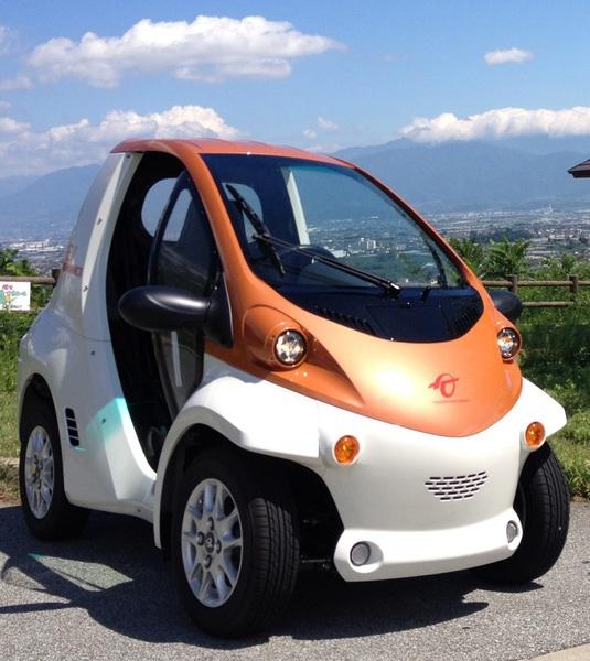 みなクルレンタルサービス/超小型EVコムス(一人乗り電気自動車)