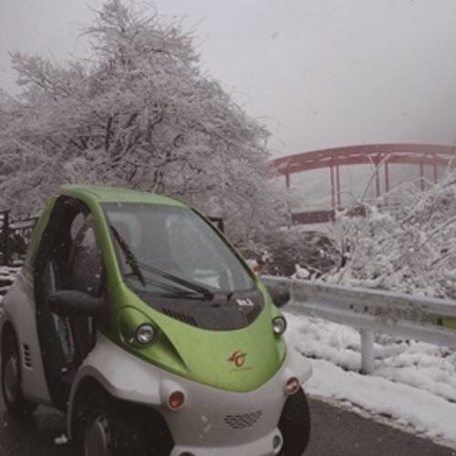 みなクルレンタルサービス/超小型電気自動車(一人乗り電気自動車)