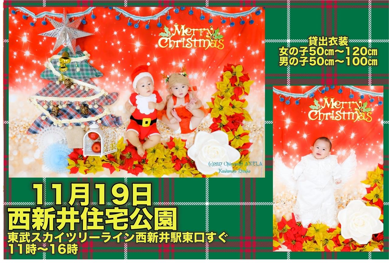 11月19日西新井住宅公園de衣装付き無料おひるねアート撮影会